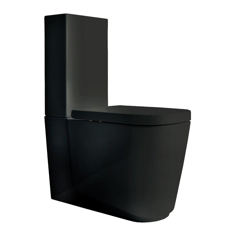 Meg11 Black Toilet Suite Streamline Products
