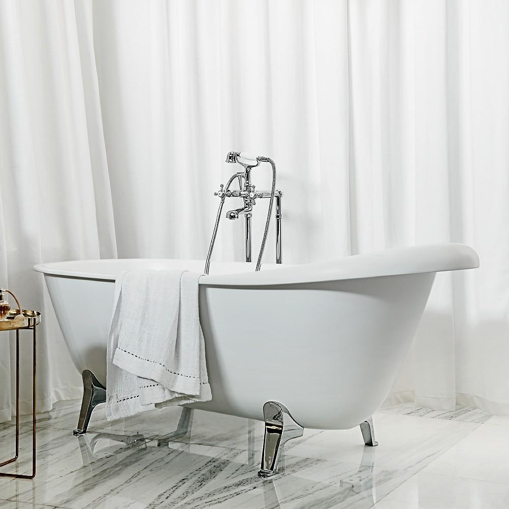 Agora Free Standing Bath Tap Set | Streamline Products