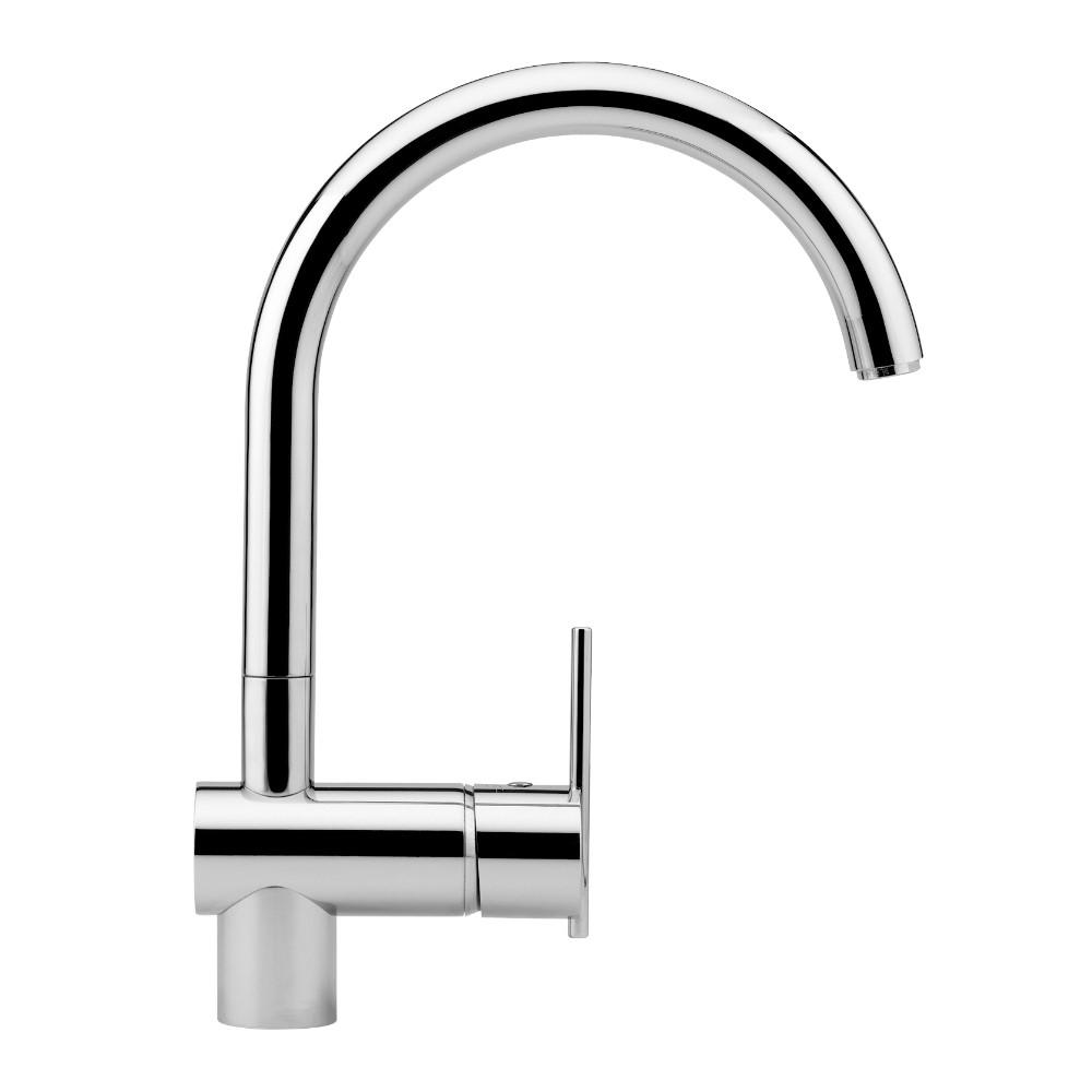 Zucchetti kitchen zucchetti brands streamline products zucchetti spin sink mixer with high arch spout nvjuhfo Images