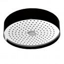 Zucchetti Round Ceiling Mounted Rain Shower With Light 320mm