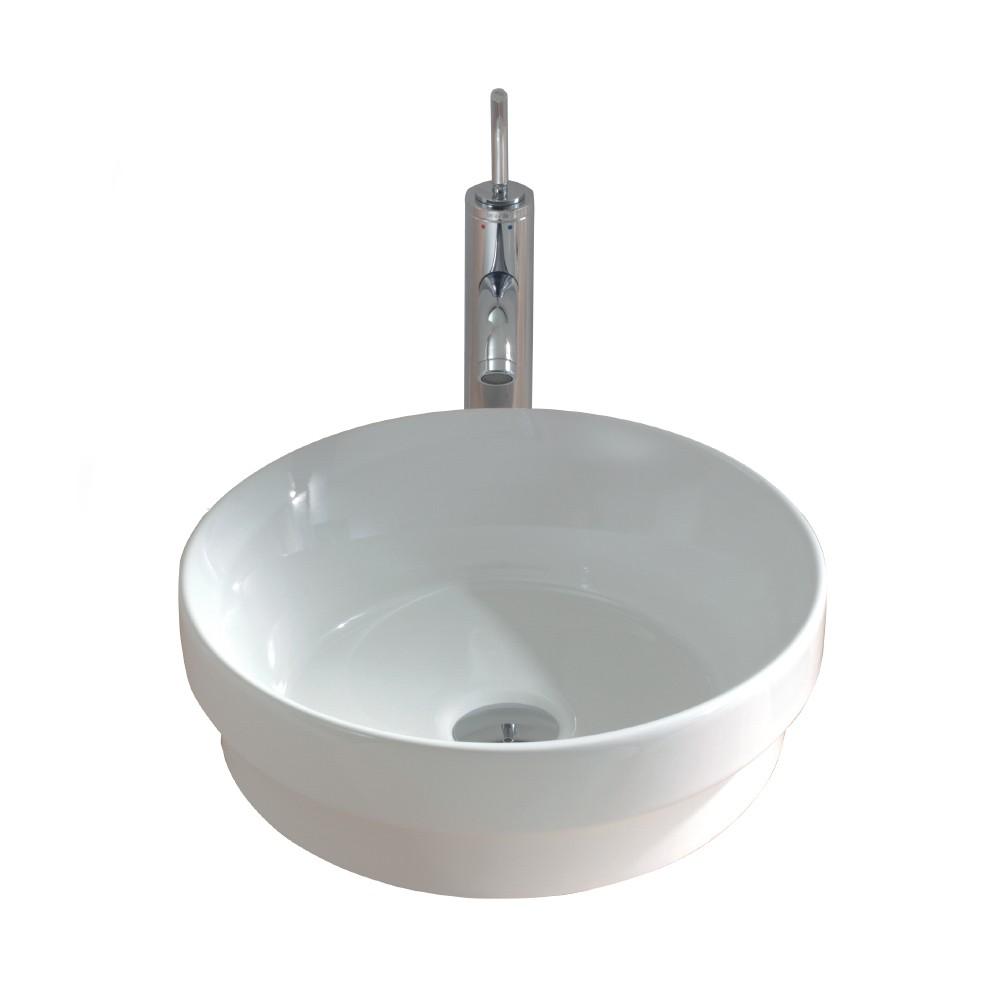 Gala Circle Inset/Above Counter Basin