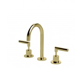 Axus Lever basin set_Brushed Brass
