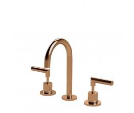 Axus Lever basin set_Brushed Rose Gold