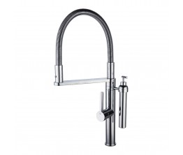 Eneo Sink Mixer With 2 Jet Nozzle And Soap Dispenser
