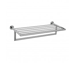Plaza Towel Rack With Rail