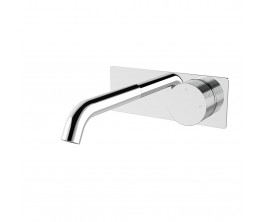 Vierra Wall mixer set with plate - 150mm spout