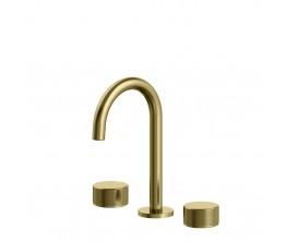 Trillion Basin Set - Brushed Brass