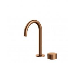 Venn Basin mixer - Brushed Rose Gold PVD