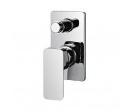 Axus Bath Shower Mixer With Diverter Small Cover Plate