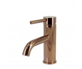 Axus Pin Lever Basin Mixer Rose Gold