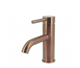 Axus Pin Lever Basin Mixer Brushed Rose Gold PVD
