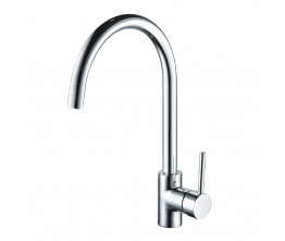 Axus Pin Lever Arch Spout Sink Mixer