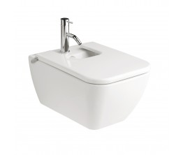 Gala Emma Square Wall Hung Bidet With Lid