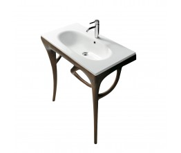 Ergo 85 Under Basin Iroko Heartwood Structure
