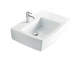 Sa2 70 Wall Hung Basin Left Bowl