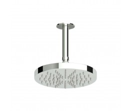 Zucchetti Spin Showerhead On 130mm Ceiling Arm