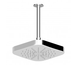 Zucchetti Soft Shower Head On 300mm Ceiling Arm