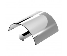 Zucchetti Bellagio Toilet Roll Holder With Cover