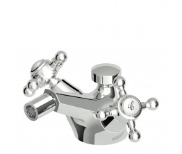 Agorà Twin Handle Bidet Tap Set