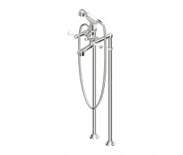 Agorà Classic Free Standing Bath Tap Set