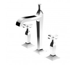 Zucchetti Bellagio Basin Tap Set High Spout