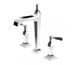 Zucchetti Bellagio Basin Set High Spout Lever Handle