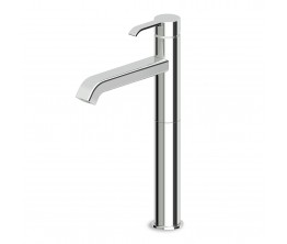 On Basin Mixer With High Spout