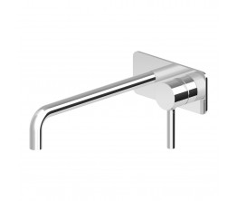 Zucchetti Pan wall tap Mixer With Plate 230mm Spout