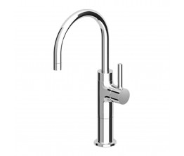 Pan Basin Mixer with extended height and swivel spout