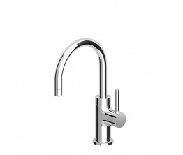 Pan Basin Mixer with swivel spout