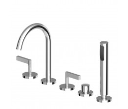 Zucchetti Simply Beautiful Bath Tap Set