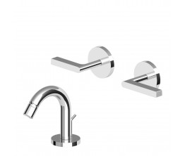 Zucchetti Simply Beautiful Bidet Tap Set