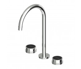 Savoir Basin Set High Spout Smooth Flange