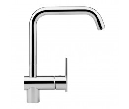 Zucchetti Spin Sink Mixer With High Square Spout