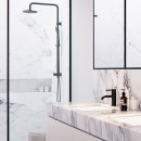 Axus Shower Column with handshower set - bottom diverter_Hero_1