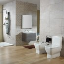 Gala Emma Square Toilet Suite Back Entry Soft Close Seat_Hero