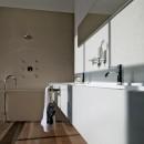 Zucchetti Pan Floor Standing Bath Spout_Hero