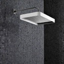 Zucchetti Shower Head 360X230mm With Edge Band On Wall Mounted Arm_Hero