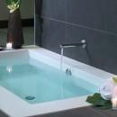 Zucchetti Spin 200mm Wall Mounted Bath Spout_Hero