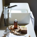 Zucchetti Jingle Basin Mixer With High Spout_Hero